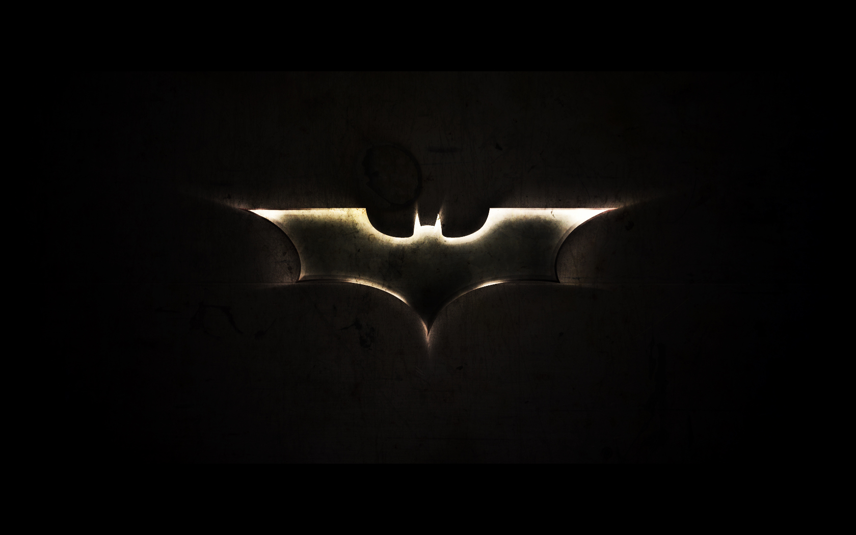 the dark knight bat symbol