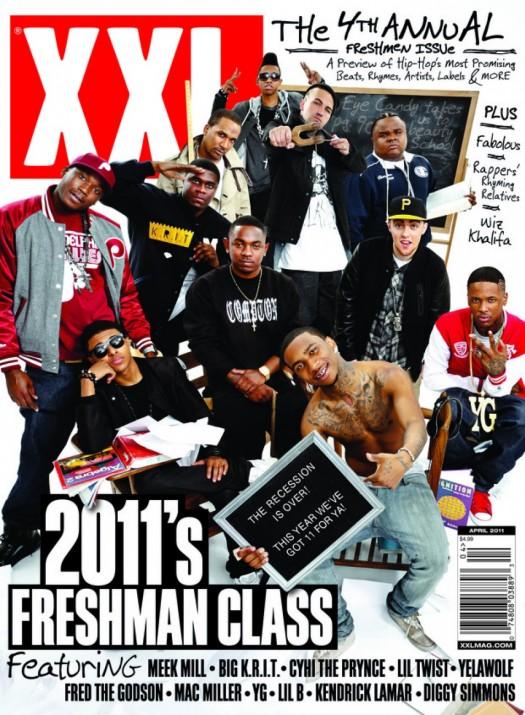 xxl freshmen 2011. with the 2011 Freshmen.