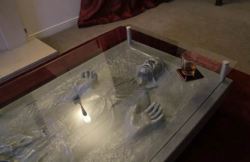 Image Result For Han Solo In Carbonite Table