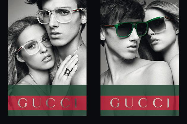 38eb13cc9d800 The Gucci Eyewear Spring 2012 Campaign.