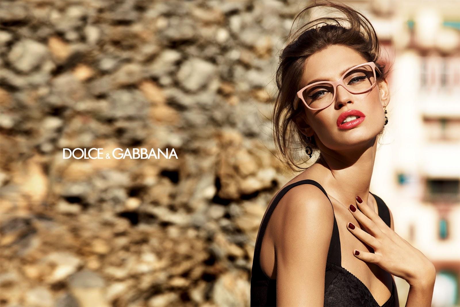 bianca balti and dolce gabbanas new sunglasses line - Dolce Gabbana Frames