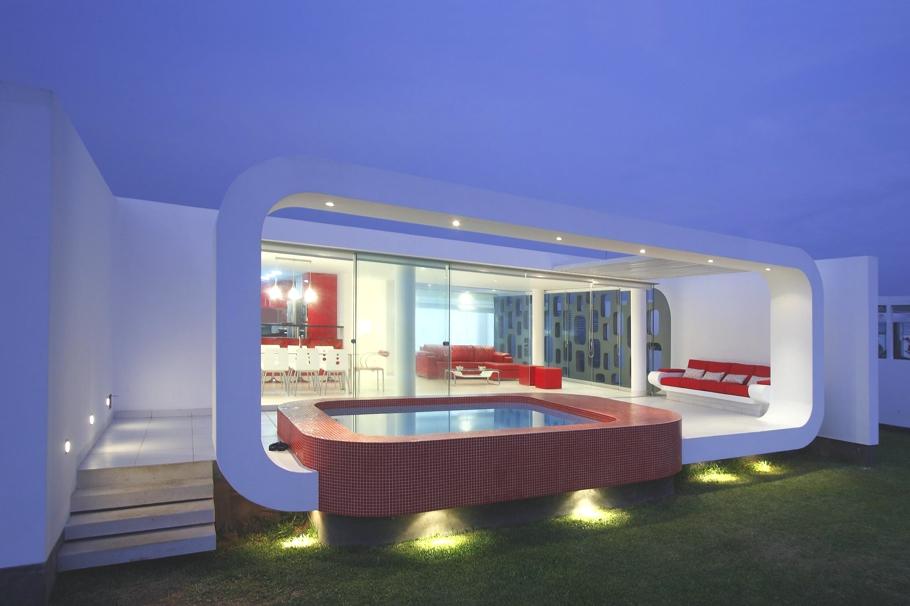 Minimalist beach house in lima dj storm 39 s blog for Casa minimalista lima