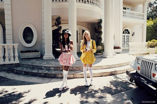 "Wildfox-Couture-Recreates-""Clueless""-For-Its-SpringSummer-2013-Lookbook-2"