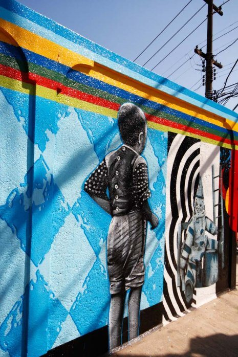 Vibrant dj storm 39 s blog for Daft punk mural