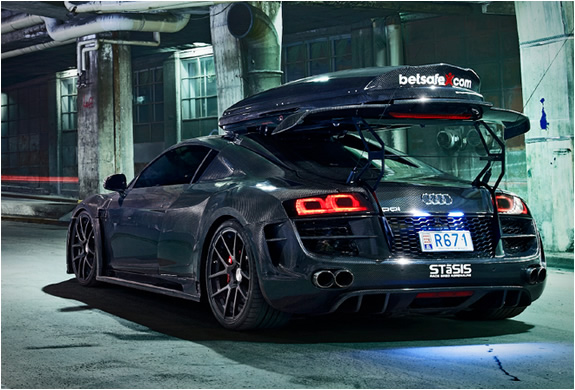 Customized Audi R8 Razor Gtr Dj Storm S Blog