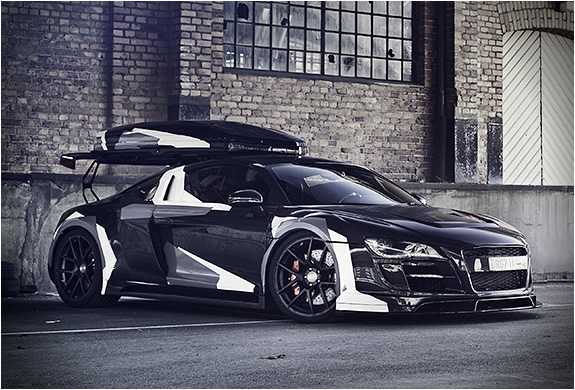 Customized Audi R8 Razor Gtr Dj Storm S Blog