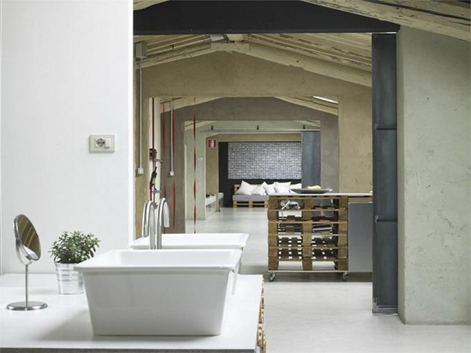 Modern Minimalist Loft In Florence Dj Storm 39 S Blog