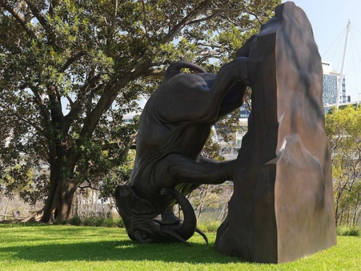"Michael Parekowhai ""The World Turns"""