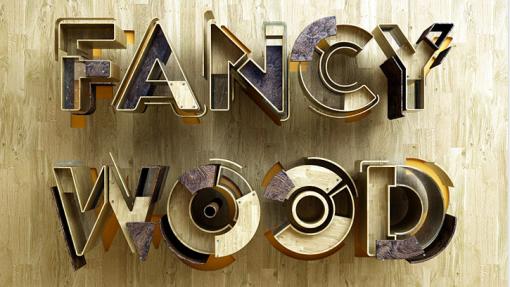 Benoit-Challand-Typography-Fancy-Wood