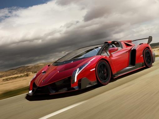 2014-Lamborghini-Veneno-Roadster-Front-Side