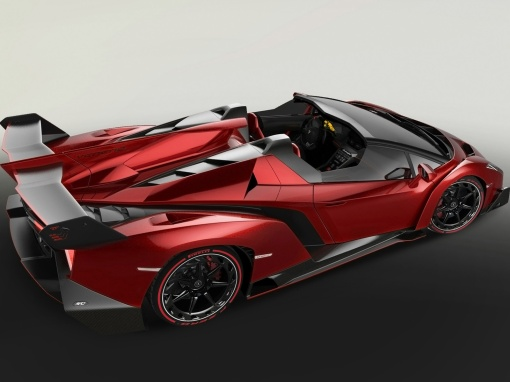 2014-Lamborghini-Veneno-Roadster-Rear-Side-Top