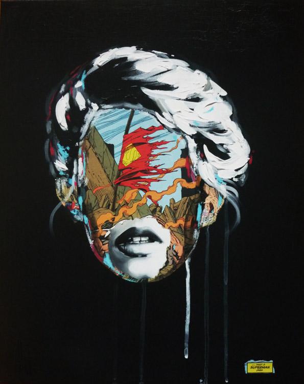 La Cage dans la fragilit de la vie, 16X20, 2013