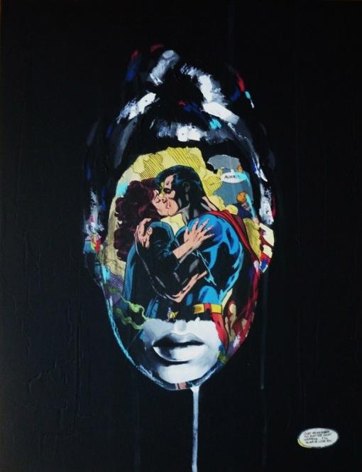 La Cage dans lmour eternel, 18X14, 2013