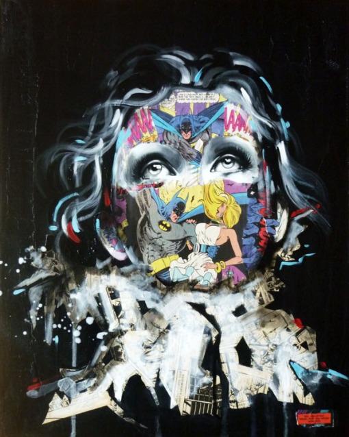 La Cage et la fiancee de la chauve souris, 20X16, 2013