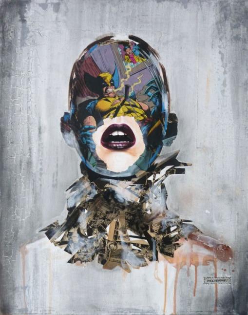 La cage et la rage au coeur, 20X16, 2013