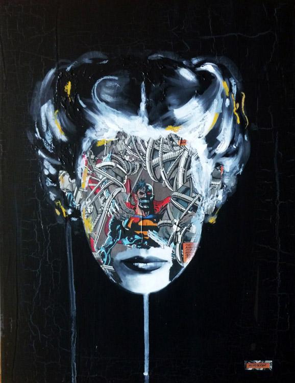 La Cage meurtrire argente, 18X14, 2013