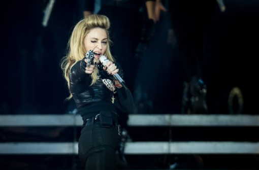 Madonna Performs During Her MDNA Tour At Hyde Park