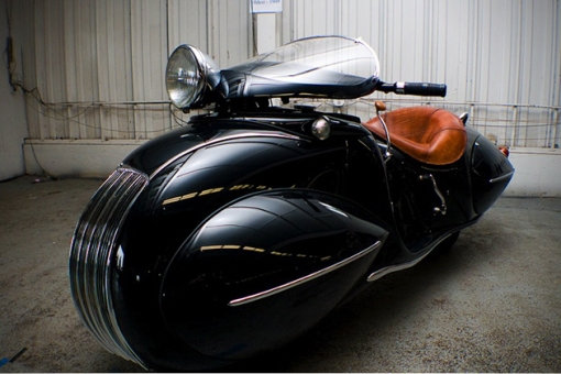 Art-Deco-1930-KJ-Henderson-Custom-Motorcycle-1