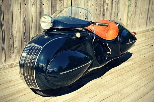 Art-Deco-1930-KJ-Henderson-Custom-Motorcycle-4