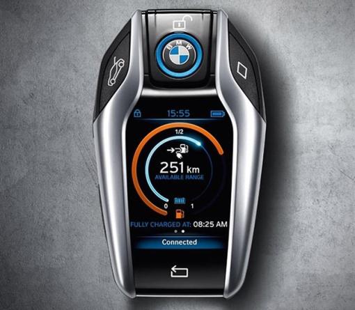 BMW-i8-LCD-Key-2