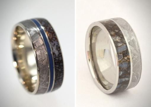 Meteorite-And-Dinosaur-Bone-Rings-5