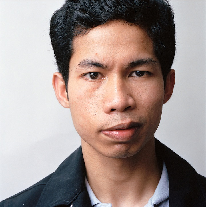 Young man in dark blue jacket, 2009