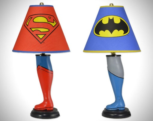 Superman-and-Batman-Leg-Lamps