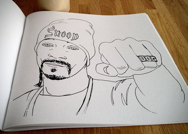 Colour Me Good Hip Hop Coloring Book 2