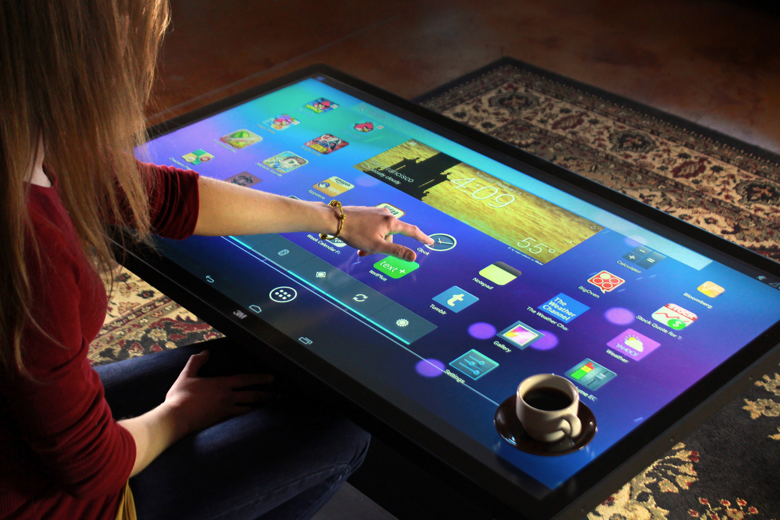Ideum S 46 Multitouch Coffee Table Dj Storm S Blog