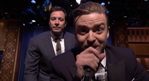 Justin Timberlake And Jimmy Fallon Perform %22History Of Rap 5%22