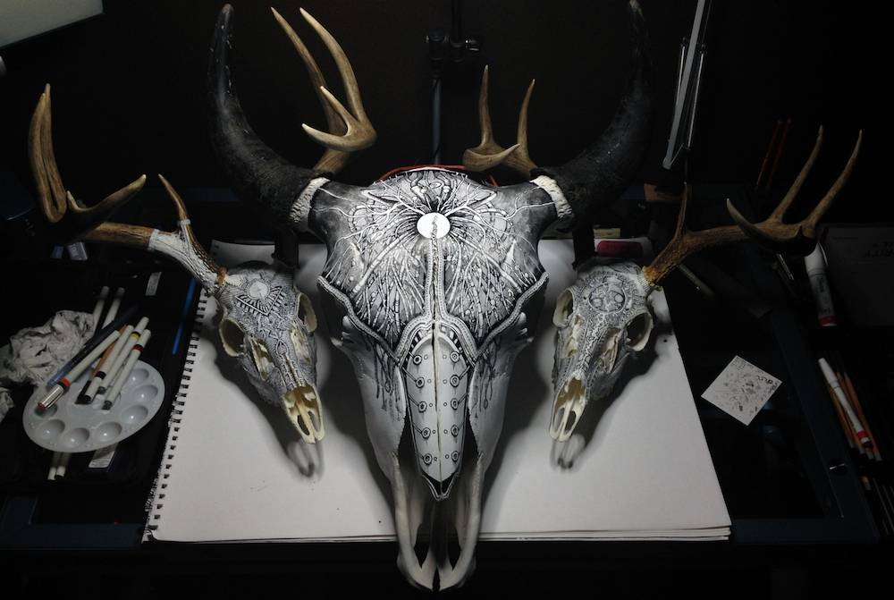 peter-deligdisch-skull-art-ink-drawking-pyrography-normal
