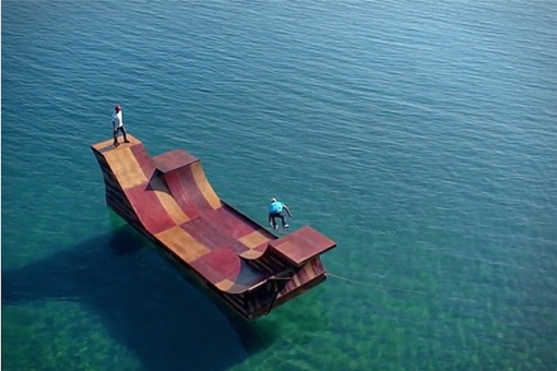 Lake-Tahoe-Floating-Skate-Ramp-5