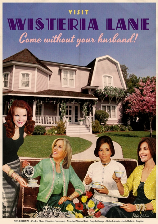 Four Housewives Having Tea