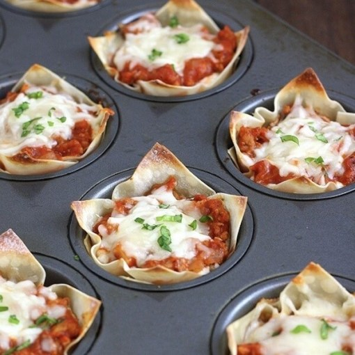 Mini Lasagnas