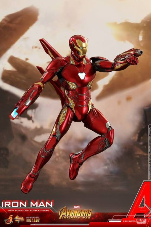 Iron Man Nanotech Suit Wallpaper Hd